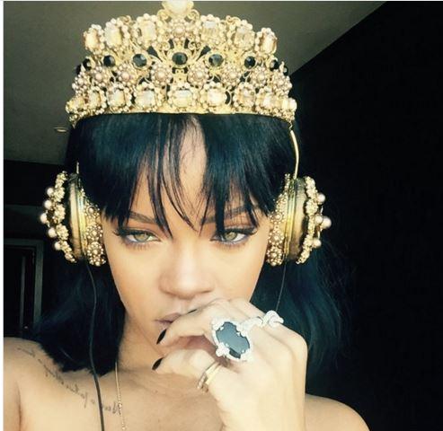 Rihanna's $9,000 Dolce & Gabbana Headphones
