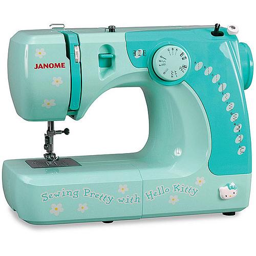 Janome Hello Kitty sewing machine