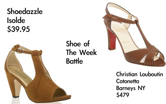 shoedazzle vs. christian louboutin