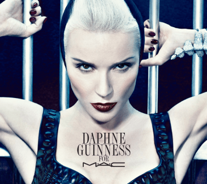 Daphne Guinness For MAC