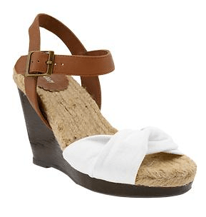 Old Navy Womens Twist-Front Wedges