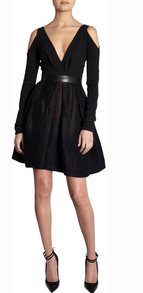 J. Mendel Cut-Out Dress