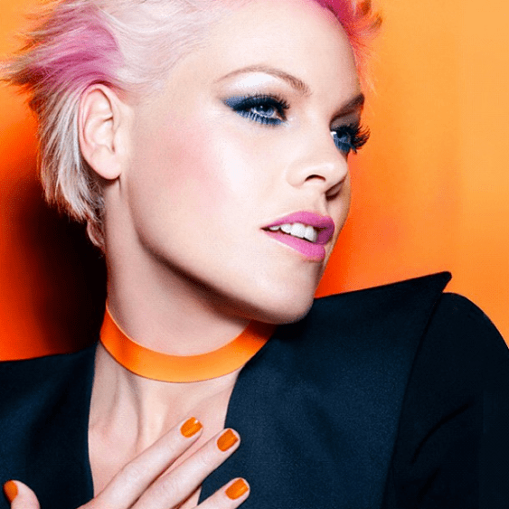 Pink is a CoverGirl