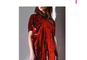 No. 21 Red Sequin Dress
