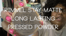 Beauty Bit- Rimmel Stay Matte Long Lasting Pressed Powder Review