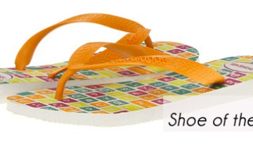 Shoe of the Week- Havaianas Exclusive Check Flip-Flops