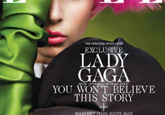 Lady Gaga Elle Cover October