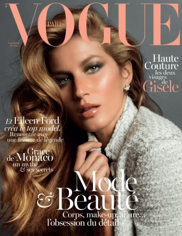 Gisele Covers French Vogue