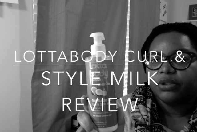 lottablody curl and style milk
