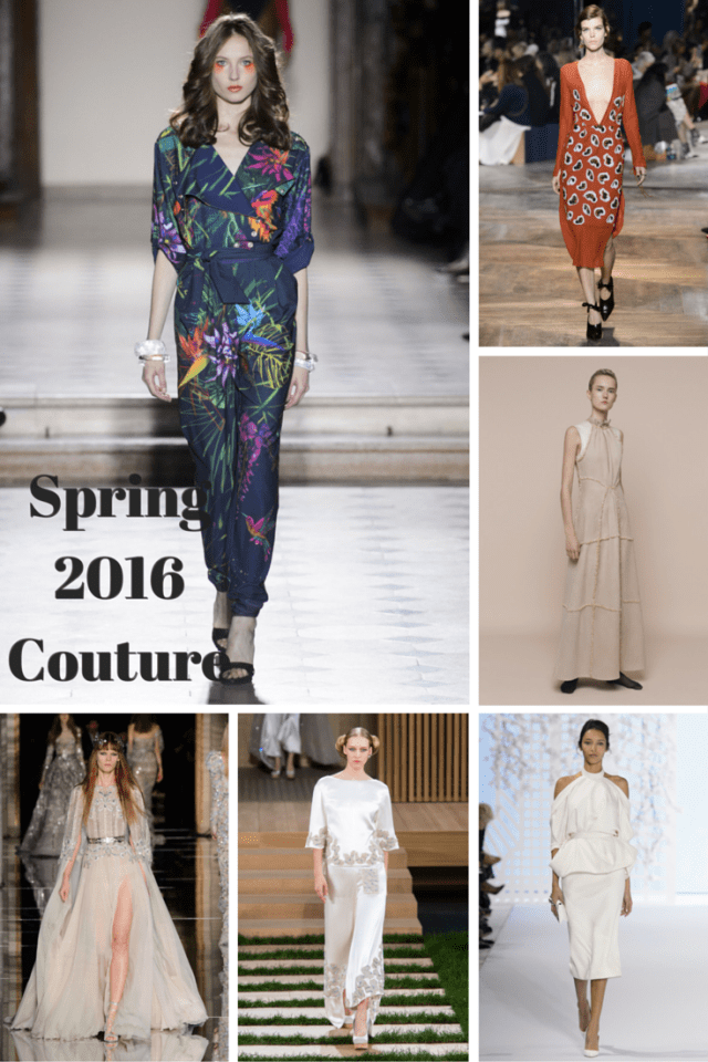 Spring 2016 Couture