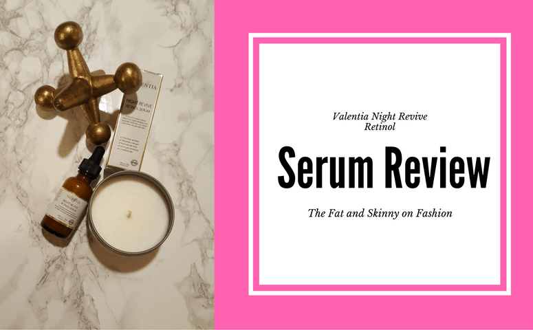 Beauty Bit-Valentia Night Revive Retinol Serum Review