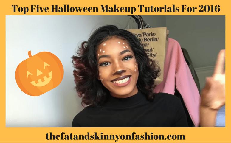 Top Five Halloween Makeup Tutorials For 2016