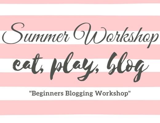 Eat, Play, Blog - Summer Workshop image