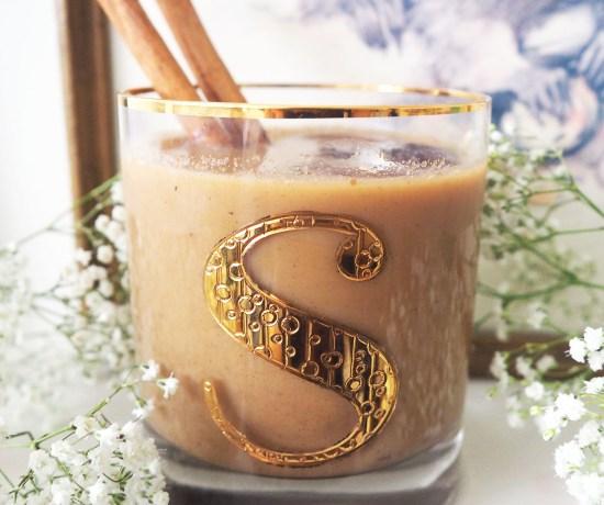 Cinnamon Iced Latte Sweetened With Honey