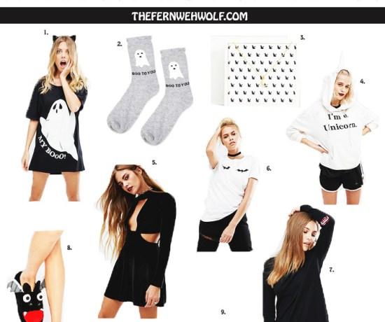 halloween inspired clothing
