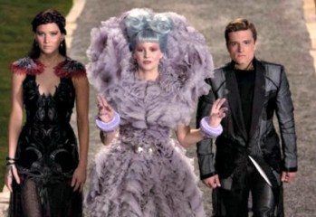 The Hunger Games Catching Fire - inside