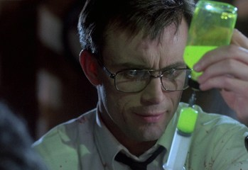 "Jeffrey Combs stars as the mentally unhinged scientist Herbert West in 1985's ""Re-Animator,"" Stuart Gordon's cult-classic adaptation of a series of H.P. Lovecraft stories."