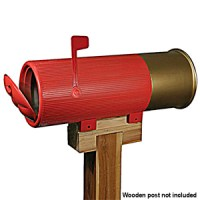 Shotgun Shell Mail box
