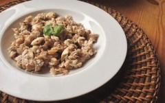 risotto seigle champignons