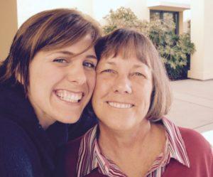 me & mom 2009