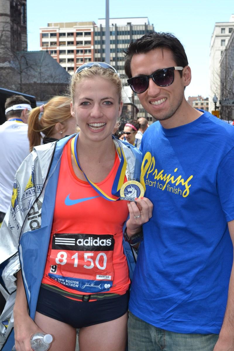 Boston Marathon Monday & Training Summary: 4/11/2016-4/17/2016
