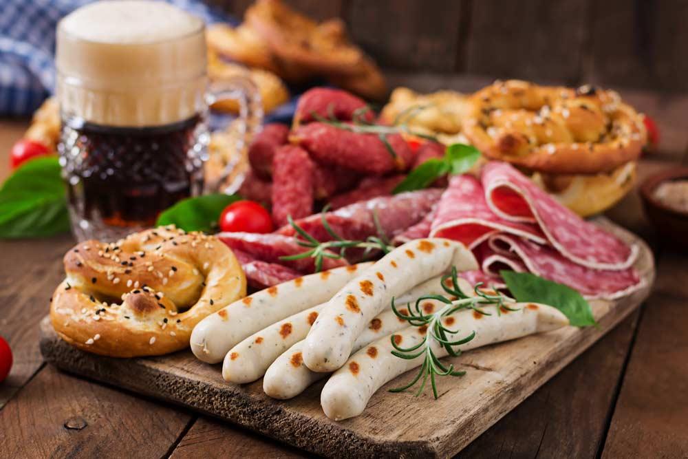 oktoberfest food spread