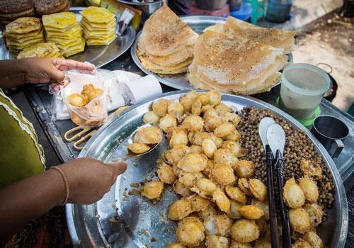street food - Myanmar