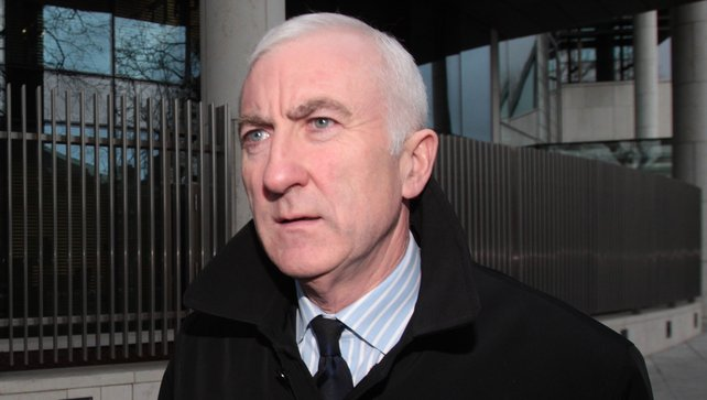 Denis Casey denied agreeing a scheme to mislead depositors, investors and lenders about the true health of Anglo (Credit RTÉ)