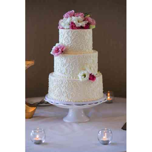 Medium Crop Of Simple Wedding Cakes