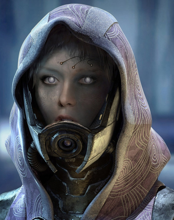 Tali, Mass Effect 3, and the Heroes Who Hide Behind a Mask