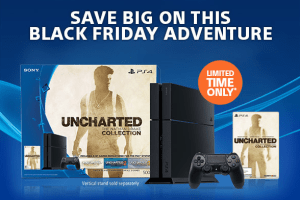 PlayStation Nathan Drake Black Friday Bundle