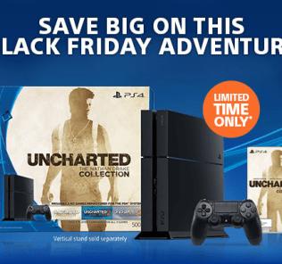PlayStation Nathan Drake Black Friday Bundle