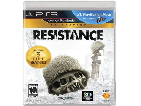 resistance trilogy collection ps3