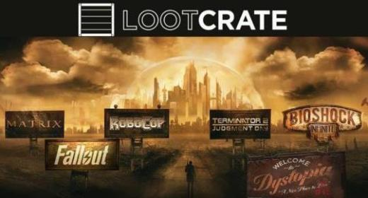 Unboxing Time: June's Loot Crate box