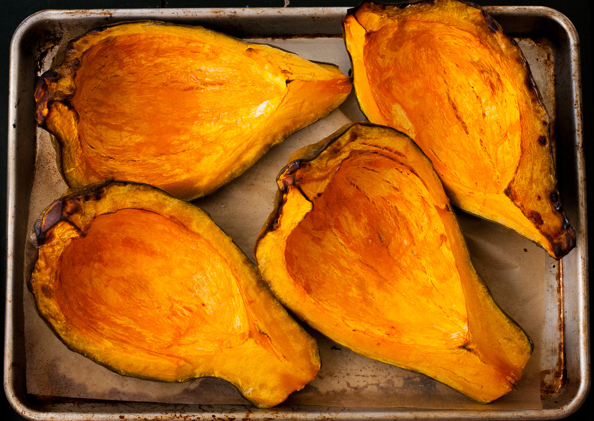 how to cut a hubbard squash