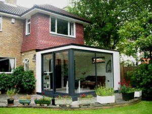 Garden room extension by Swift