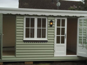 Traditional style garden office-400