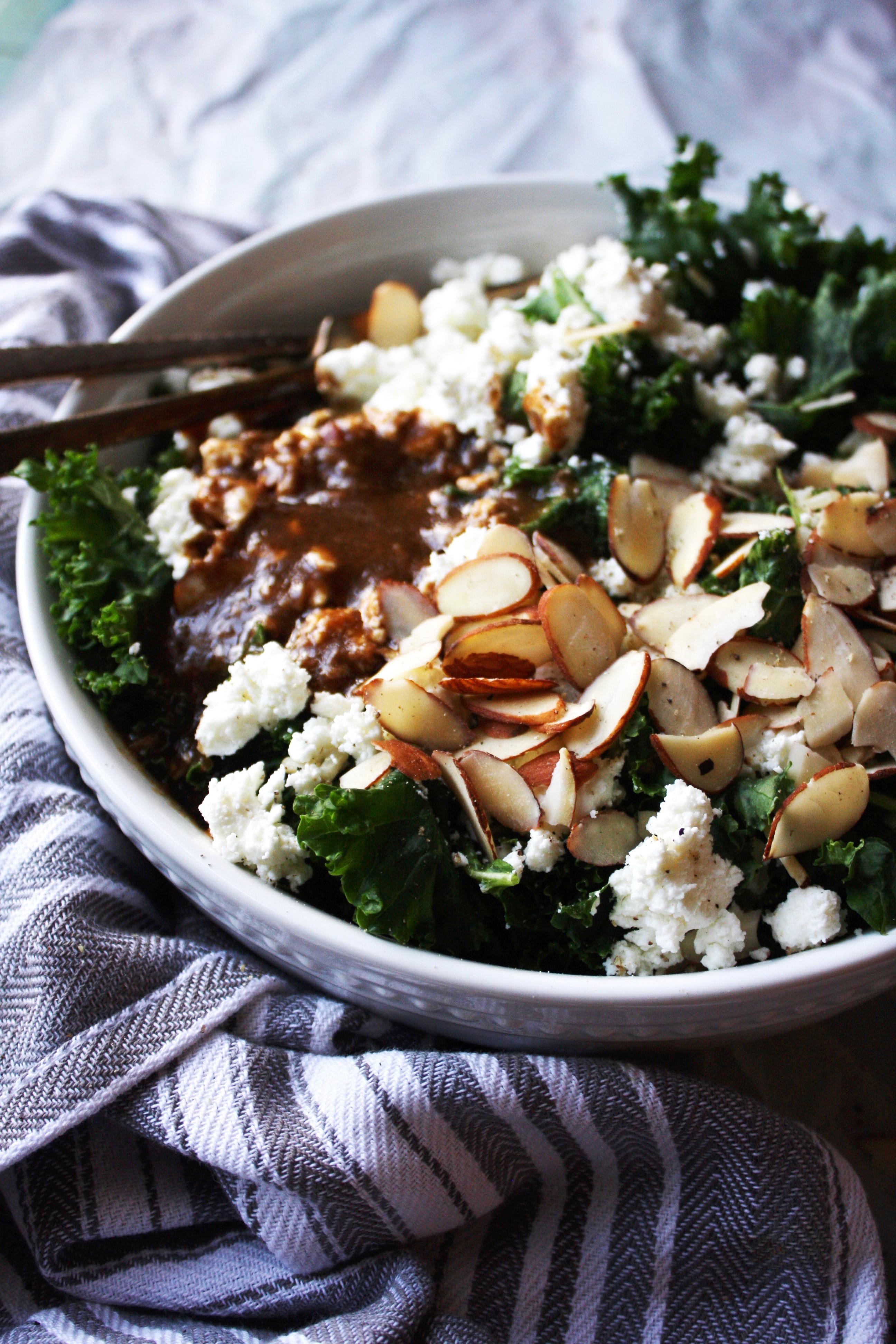 how to make kale salad soft