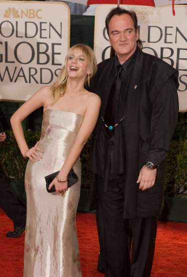 Melanie Laurent and Quentin Tarantino