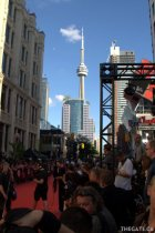 The scene from the MMVAs red carpet