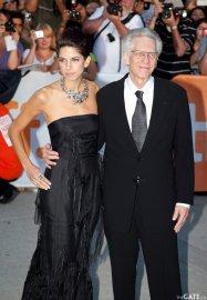 Caitlin Cronenberg and David Cronenberg