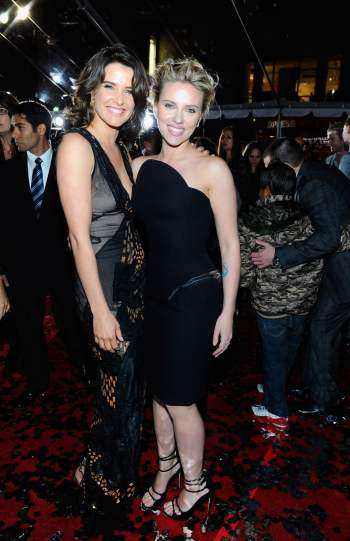 Cobie Smulders and Scarlett Johansson