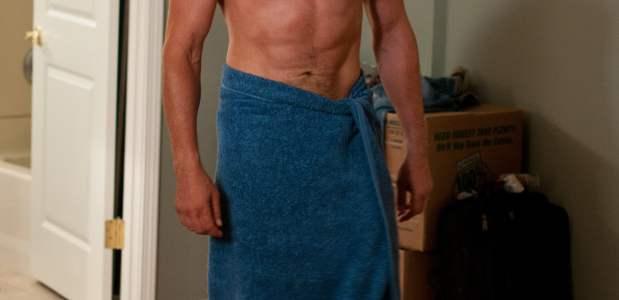 Gerard Butler shirtless in Playing for Keeps