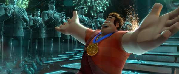 Ralph finds his medal
