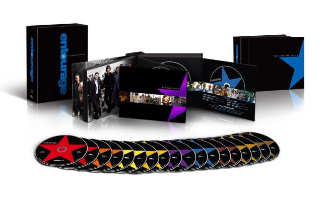 Entourage The Complete Series on blu-ray