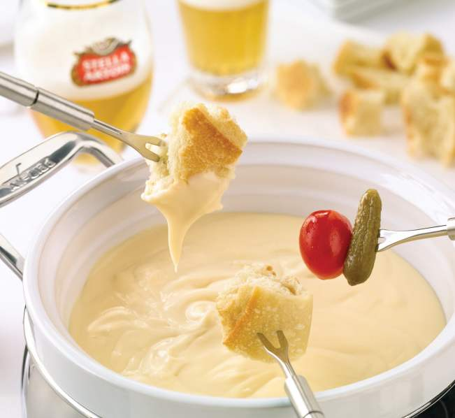 Fondue at the Bier Markt
