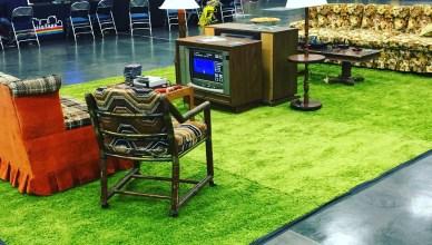 Retro gaming lounge!