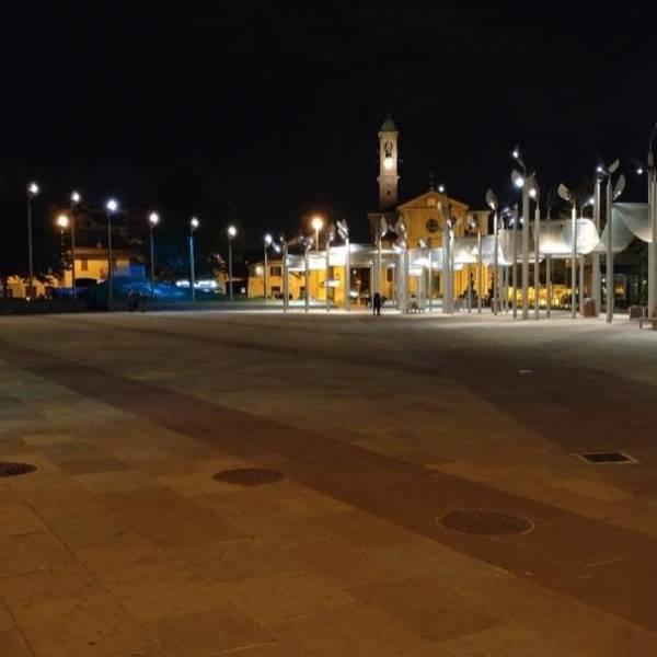 LG G5 Notturna piazza