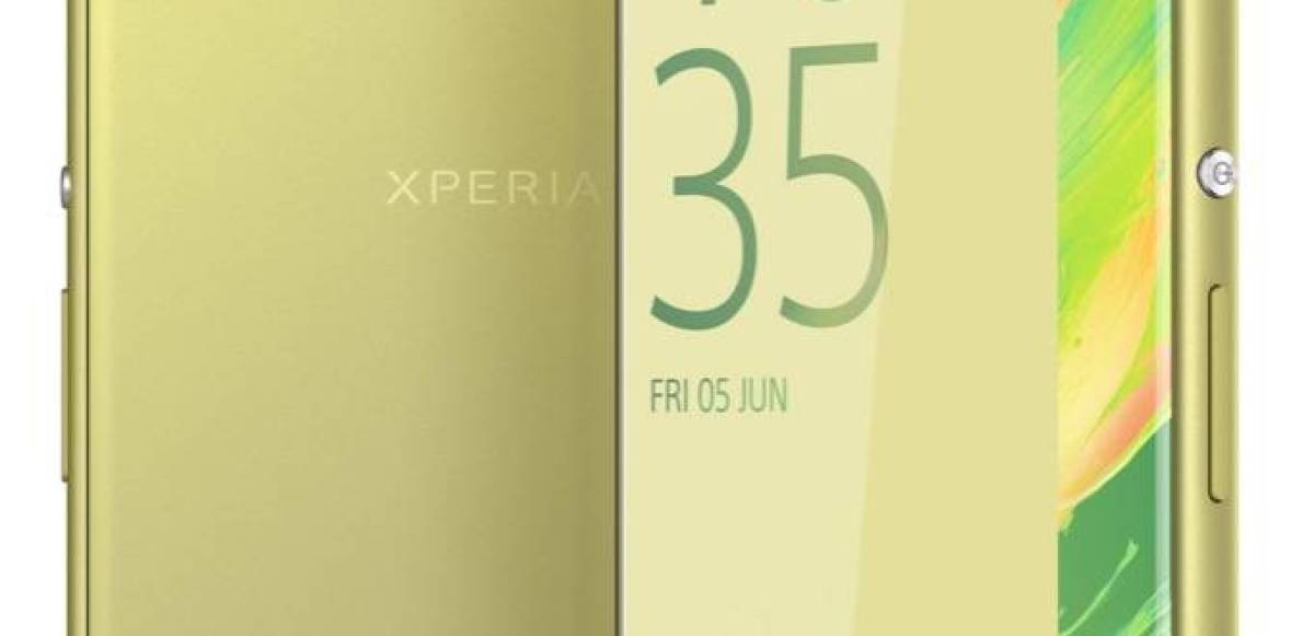 Xperia XA Ultra Lime Gold