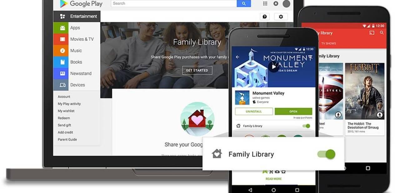 Google_Family_Library_raccolta_della_famiglia